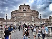 San Angelo Castle, Rome, Italie Photos stock