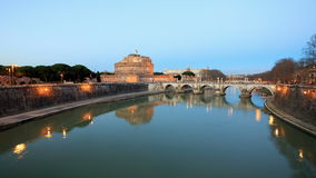 San Angelo Gezoem, Rome, Italië Timelapse 4K stock footage