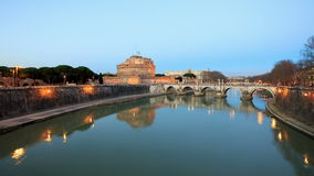 San Angelo, Rome, Italy. TimeLapse. 4K stock video footage