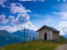 San Antoine, bessans, Savoia, Francia della cappella Fotografia Stock Libera da Diritti
