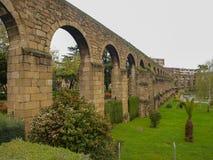 San Anton Aqueduct in Plasencia. Spain Royalty Free Stock Photos