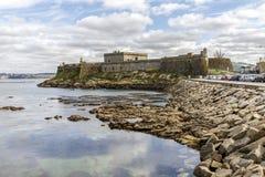 San Anton castle,A Coruna,Galicia Stock Photography