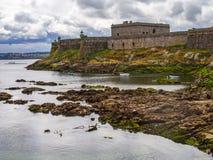 San Anton Castle in A Coruna. Spain Stock Photo