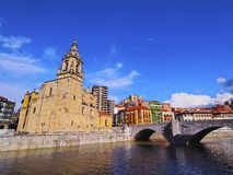 San Anton Church in Bilbao Royalty Free Stock Images