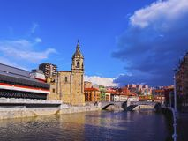 San Anton Church in Bilbao Stock Photo