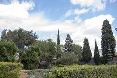 San Anton Garden Malta. View near the Japanese Pagoda Stock Photography