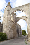 San Anton, the ruins of the Convent of the Antonians. Spain Stock Images