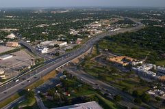 San Antonio. Places in Texas - View from above Stock Photo