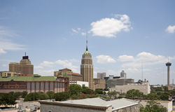 San Antonio. A view of downtown San Antonio Texas on a bright sunny day royalty free stock photo