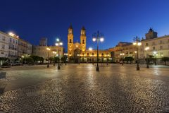 San Antonio Church in Cadiz. Cadiz, Andalusia, Spain Stock Photo