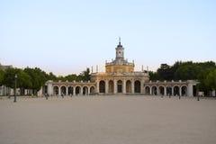 San Antonio Church en el lugar real de Aranjuez Imágenes de archivo libres de regalías