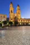 San Antonio Church i Cadiz arkivfoto