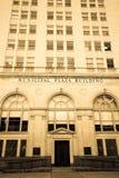 San Antonio City Hall. Toned black-and-white image of San Antonio, TX City Hall building Stock Photo