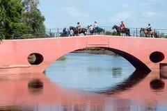 San Antonio de Areco, provincia Buenos Aires, Argentina - Novembe Immagine Stock Libera da Diritti