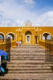San Antonio de couvent de Padoue chez Izamal photographie stock libre de droits