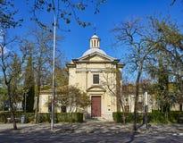 San Antonio de la Florida Hermitage Madrid, Espagne image libre de droits