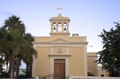 San Antonio de Padua Church Stock Photography