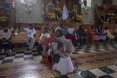 San Antonio de Padua, patronalparti royaltyfri foto