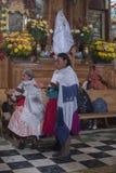 San Antonio de Padua, patronalparti Arkivfoton