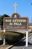 San Antonio De Pala Misja w Kalifornia Zdjęcia Stock