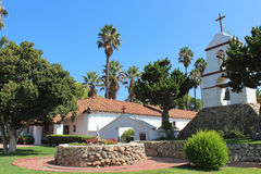 San Antonio de Pala Mission in California. The San Antonio de Pala Mission in California. Pala Mission was founded on June 13, 1816. It is the only historic stock image