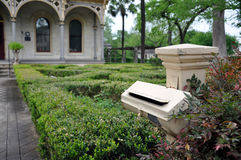 San Antonio - deutscher historischer Bezirk Lizenzfreies Stockbild
