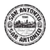 San Antonio grunge rubber stamp Royalty Free Stock Photos