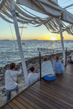 San antonio ibiza sunset Stock Photos