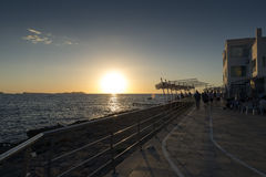 San antonio ibiza sunset Royalty Free Stock Images