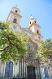 San Antonio kościół, lokalizujący w placu San Antonio który jest, kantuje Zdjęcia Royalty Free