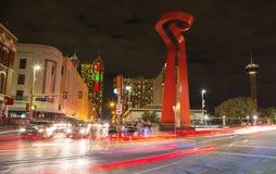 San Antonio - la antorcha de la amistad Imagen de archivo libre de regalías