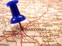 San Antonio, le Texas Image libre de droits
