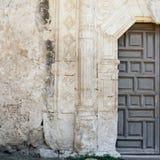 San Antonio misi Drzwiowy szczegół Zdjęcie Stock