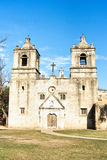 San Antonio Mission. On of the several historic missions of the San Antonio National Heritage Park in Texas Royalty Free Stock Photography