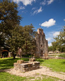 San Antonio Mission Espada in Texas Royalty Free Stock Photo