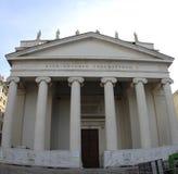 San Antonio Nuovo Church Trieste Italy 2019. Neoclassical church, built in the 19th century stock photo