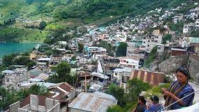 San Antonio Palopo, Guatemala Stock Image
