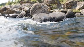 San Antonio River in Cuesta-Blanca stock footage