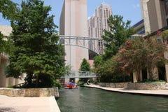 San antonio river walk. Beautiful river walk in downtown San antonio ,Texas Royalty Free Stock Images