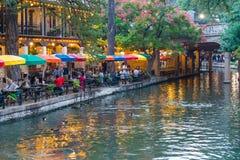 San Antonio Riverwalk, Τέξας Στοκ Εικόνες