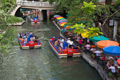 San Antonio Riverwalk imagem de stock royalty free
