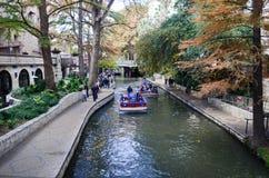 San Antonio Riverwalk Stock Foto's