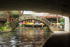 San Antonio Riverwalk imagem de stock