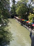 San Antonio Riverwalk imagens de stock royalty free