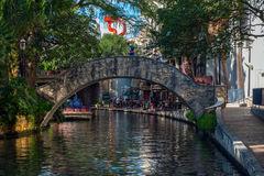 San Antonio Riverwalk Immagine Stock
