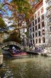 San Antonio Riverwalk. The riverwalk of downtown San Antonio, Texas Royalty Free Stock Images