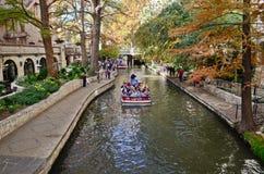 San Antonio Riverwalk. The riverwalk of downtown San Antonio, Texas Stock Photo