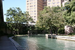 San antonio riverwalk Teksas obraz stock