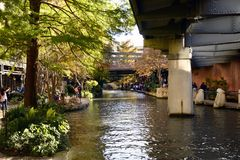 San Antonio Riverwalk, San Antonio, Texas royaltyfria foton