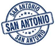 San Antonio stamp. San Antonio round grunge stamp isolated on white background. San Antonio royalty free illustration